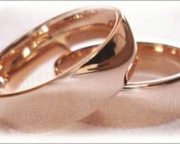 IM231 Trauring ringe hochzeit rose gold