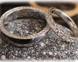 Eternity Eheringe IM501 aus Platin 950 mit 1,70ct Diamanten