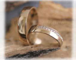 IM272, TrauringeEheringe 18 Diamanten - 0,18K, Gelbgold,  klassisch poliert new