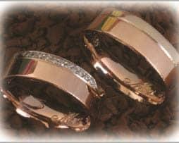 IM264 trauringe eheringe diamanten rosegold bicolor