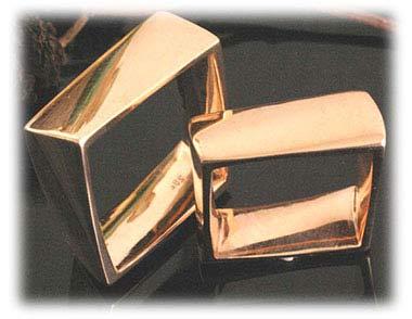 IM360 ausgefallene sondereheringe gelbgold 750