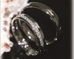 IM246, Trauringe Eheringe 18 Diamanten new halbkranz