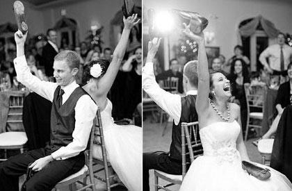 Hochzeitsspiele - Ganz wichtig! Ehe-Eignungstest