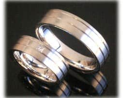 IM284 eheringe weissgold oder platin 600 mit diamant 1