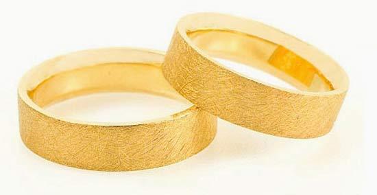 Eheringe gold eismatt  Trauringe/Eheringe IM527, klasisch, Gelbgold, eismatt - Trauringe Gold