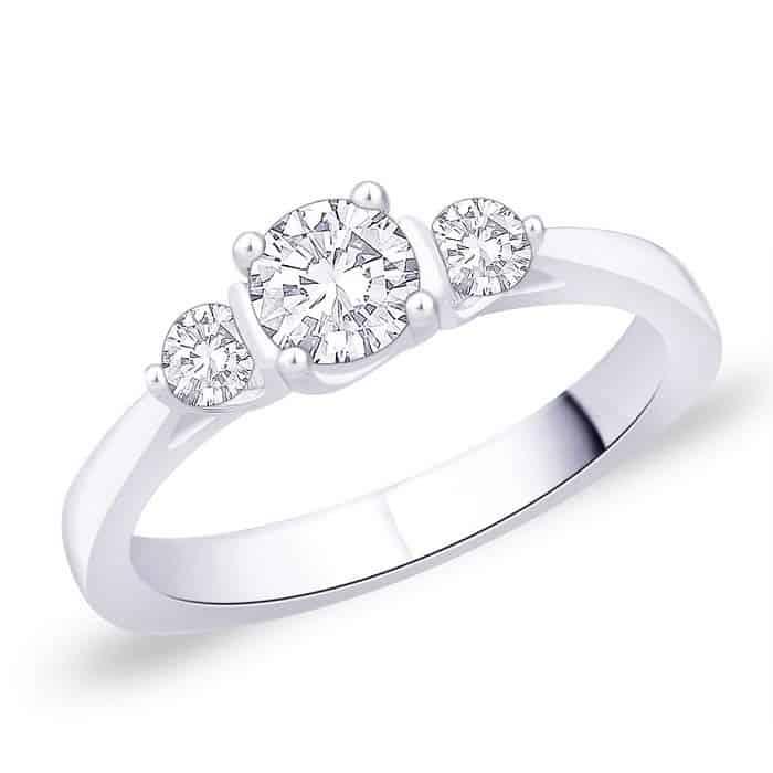 verlobungsring partnerring im650 3 diamanten 0 60k wei gold oder platin poliert trauringe. Black Bedroom Furniture Sets. Home Design Ideas