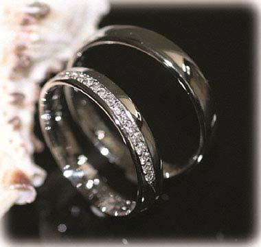IM246, eheringe platin günstig mit diamanten poliert