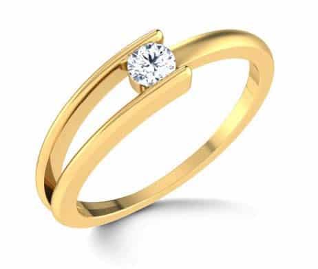 verlobungsring partnerring im656 1 diamant 0 15k gelbgold poliert trauringe gold. Black Bedroom Furniture Sets. Home Design Ideas
