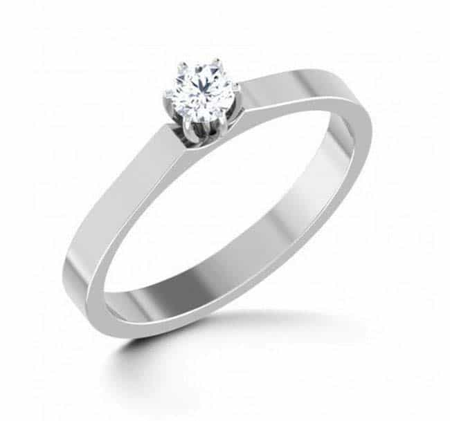 verlobungsring partnerring im658 1 diamant 0 18k aus weissgold 750 poliert trauringe gold. Black Bedroom Furniture Sets. Home Design Ideas
