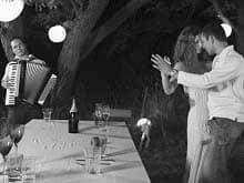 Couple Dancing at Garden Party