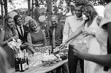 Der Zeitliche Rahmen und das Fest draußen - interessante Hochzeitsideen