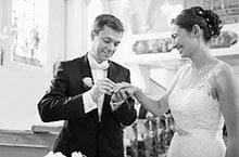 Serviceangebote des Fachhandels für Geschenke zur Hochzeit
