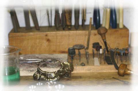 Ringmass aus Metall für Eheringe und Verlobungsringe - Goldschmiede Mitev