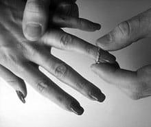 Heirat der Inuit Eskimo in Westgrönland - alte traditionelle Hochzeitsbräuche