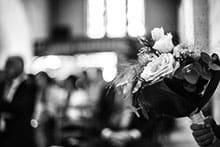 Mecklenburg Küster von Haus zu Haus und die Hochzeitsgäste - alte deutsche Hochzeitsbräuche