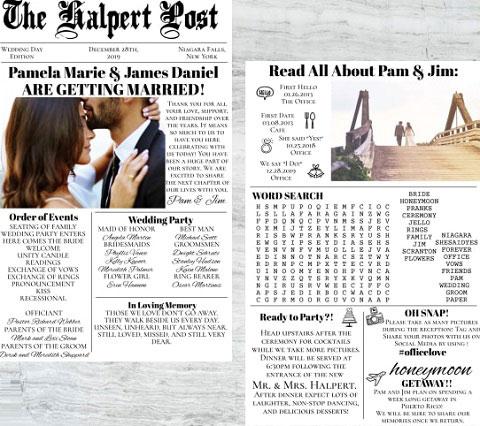 Kleinanzeigen hochzeitszeitung Themenliste und